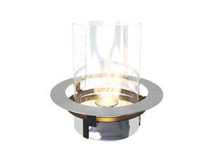 Rondo Commerce - cheminée éthanol design