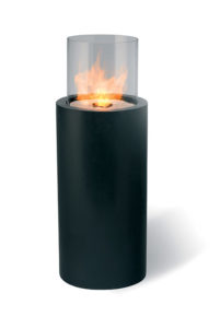 Totem Commerce - cheminée éthanol design